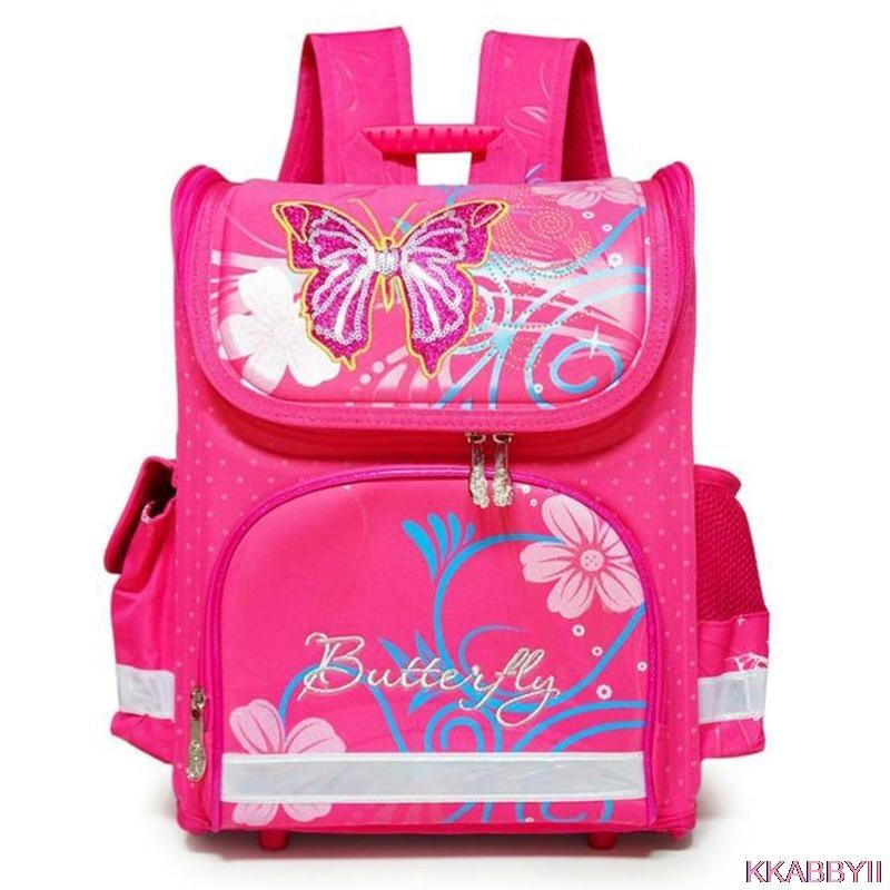 ФОТО New arrivel backpack snow queen School Bag Orthopedic Children School Bag Anna and Elsa Backpack Mochila Infantil for girls