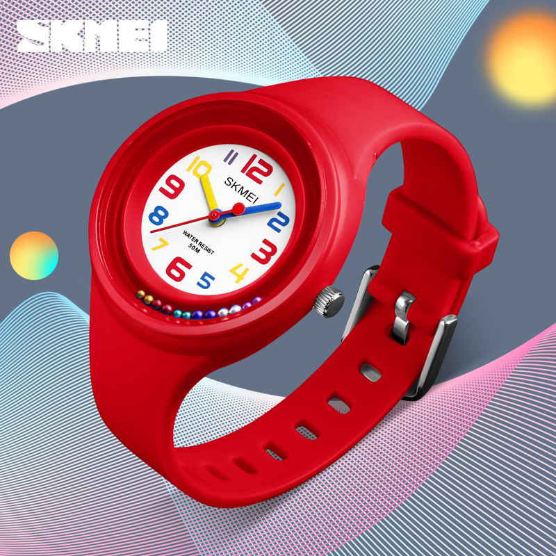 SKMEI Kids Quratz Watches Boys 50M Waterproof Girls Candy Student Fashion Casual Wristwatches Kinderhorloge 1386 Childrens