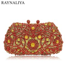 Wedding Bridal Accessories Handbags Luxury Day Clutches Clutch Bags Butterfly Shape Pattern Crystal Evening Bag Smyzh-e0121