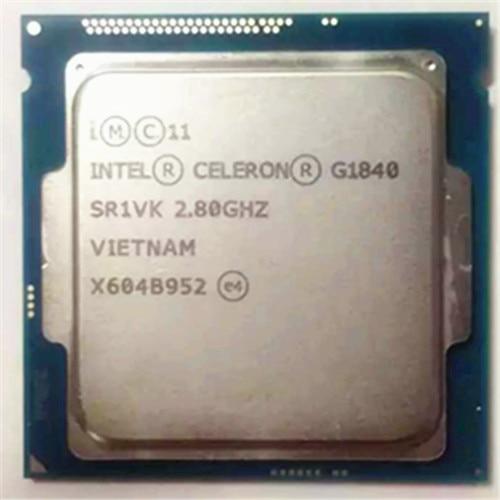 Intel Celeron Dual G1840 LGA1150 2M Cache Dual-Core CPU Processor TPD 53W Desktop Processor Have A G3220 3260 Sale