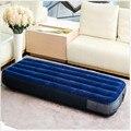 La inflación de aire Flocado Colchón de la cama 76*191*22 cm aire libre de escaras mattess pad plegable al aire libre, siesta oficina Matelas con bomba de aire