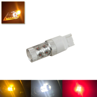 One Piece Red White Yellow T20 7440 Wedge W3x16d Led Light Replace Bulbs Car Styling 992
