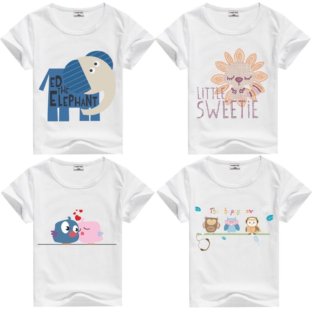 DMDM PIG Gyerekek blúzok Gyermekruházat Bébi ruhák Nyári póló Rövid ujjú pólók fiúknak 9 10 éves lányok Topok