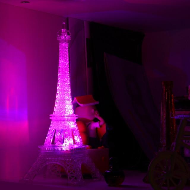 Charmant Led Color Change Romantic Eiffel Tower LED Night Light Bedroom Home Decor  Lights Worldwide Store Lamp