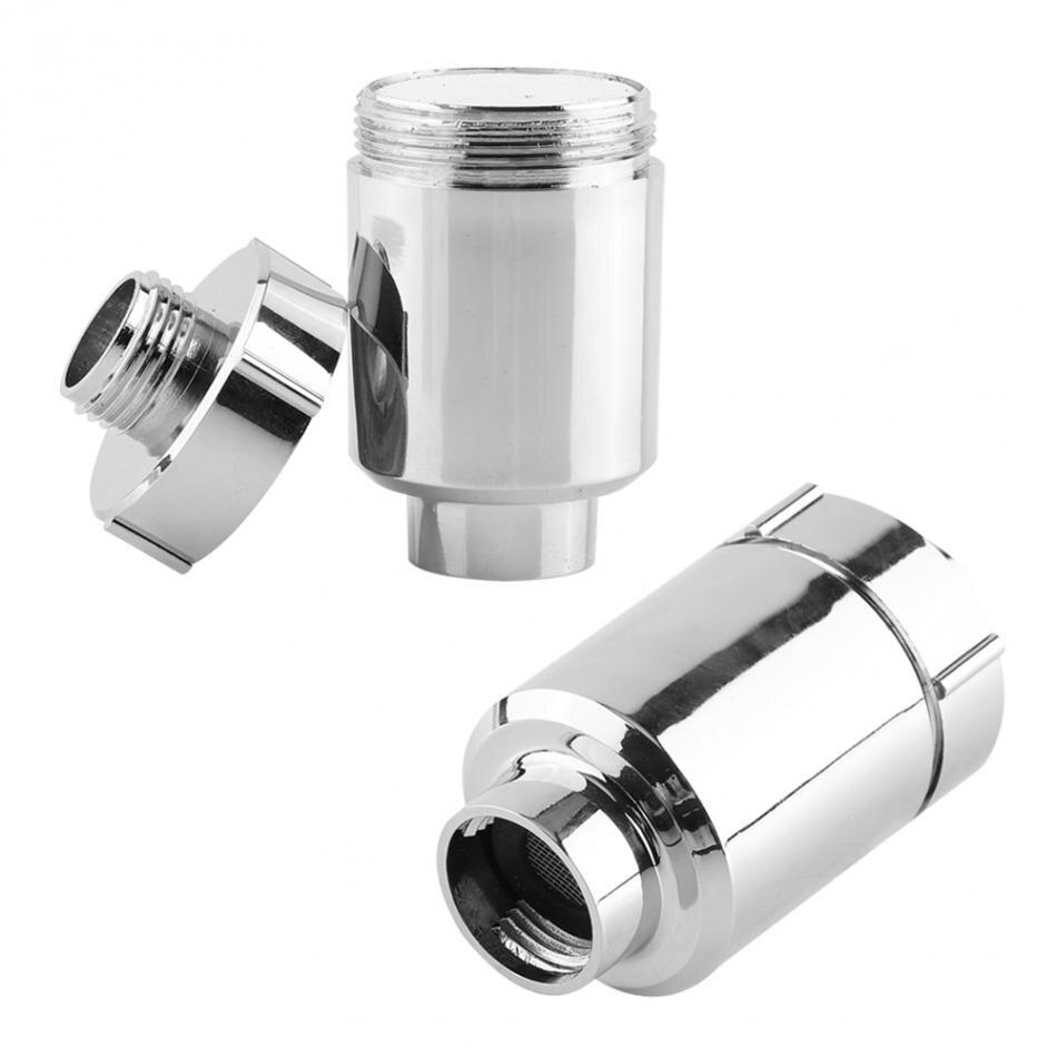 Shower Head Water Filter Bathroom Home Water Purifier Softener Chlorine  Heavy Metal Remover Bathroom(china