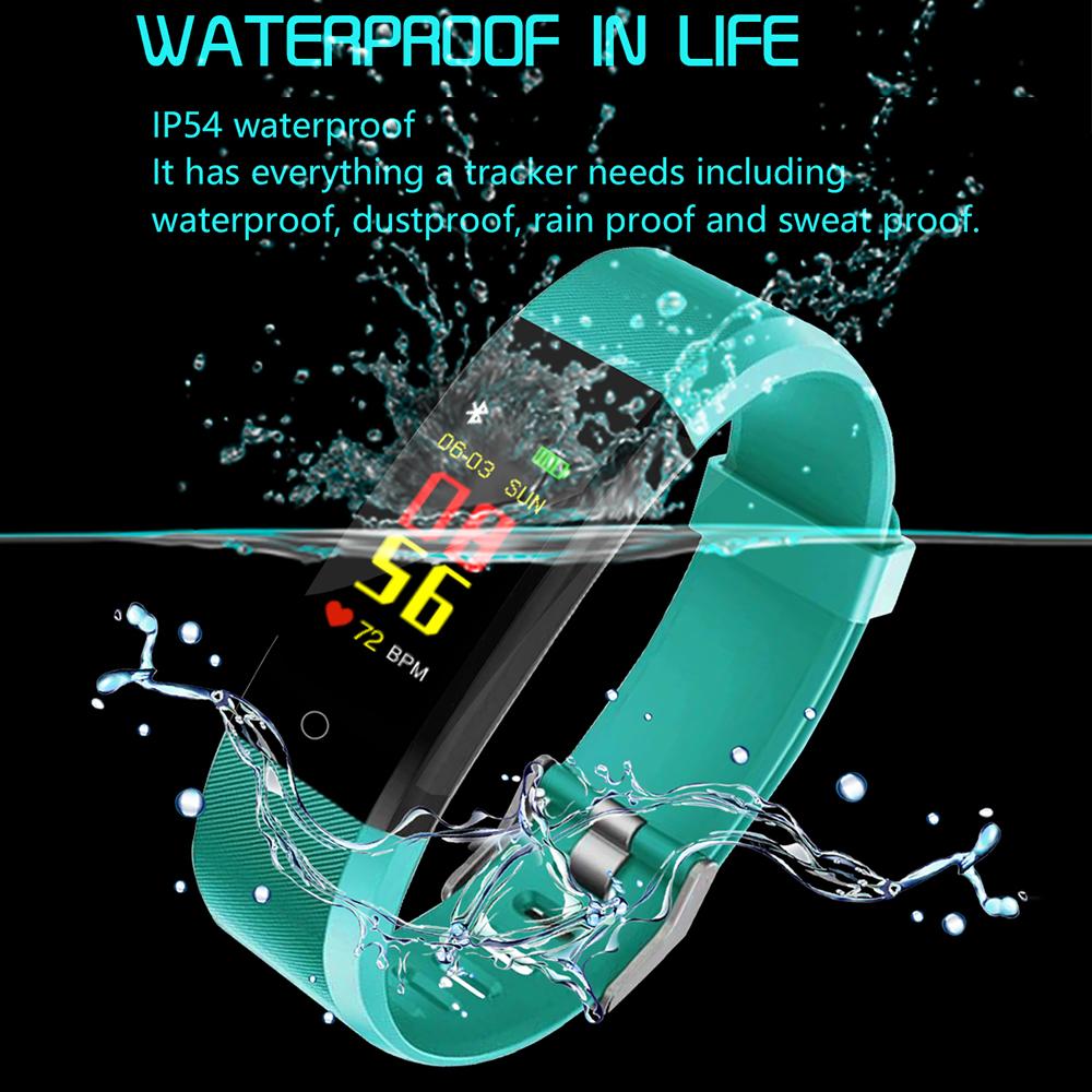 3 Bracelet intelligent moniteur de santé