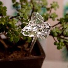 Для садового полива растений устройство Крытый автоматический бабочка Улитка лебедь стекло