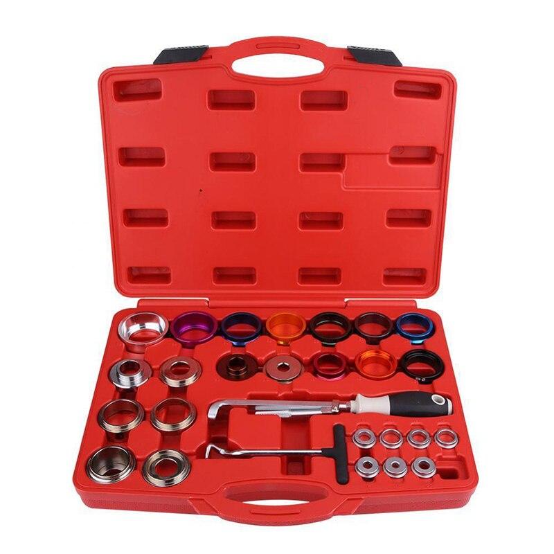 Qualité 27 pièces arbre à cames manivelle vilebrequin joint d'huile dissolvant Installer trousse à outils de retrait am