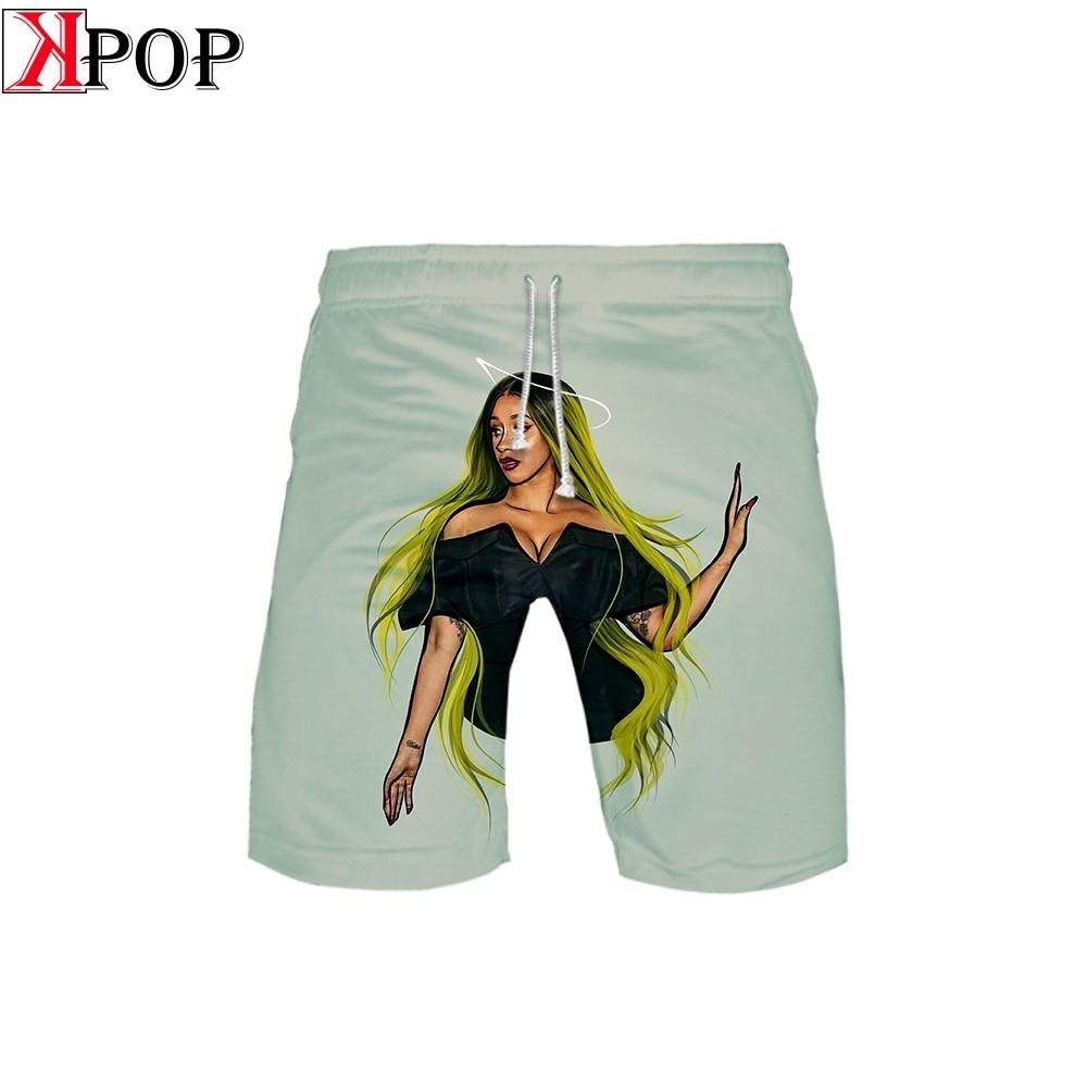 Summer Shorts Pant Hip-Hop Beach High-Street Casual Fashion Basic Cool Print 3D Hipster