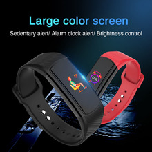 Bluetooth 4.0 Smart Wristband Heart Rate Monitor Fitness Tracker Waterproof Smartband for Android xiaomi huawei IOS PK band 4 3 цена