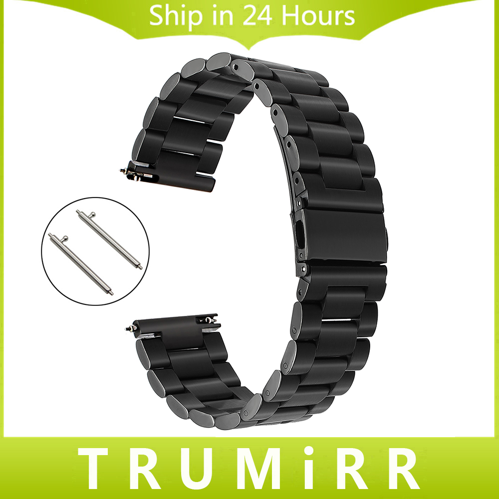 22mm Stainless Steel Watch Band Quick Release Strap For Samsung Gear S3 Classic Frontier Wrist Belt