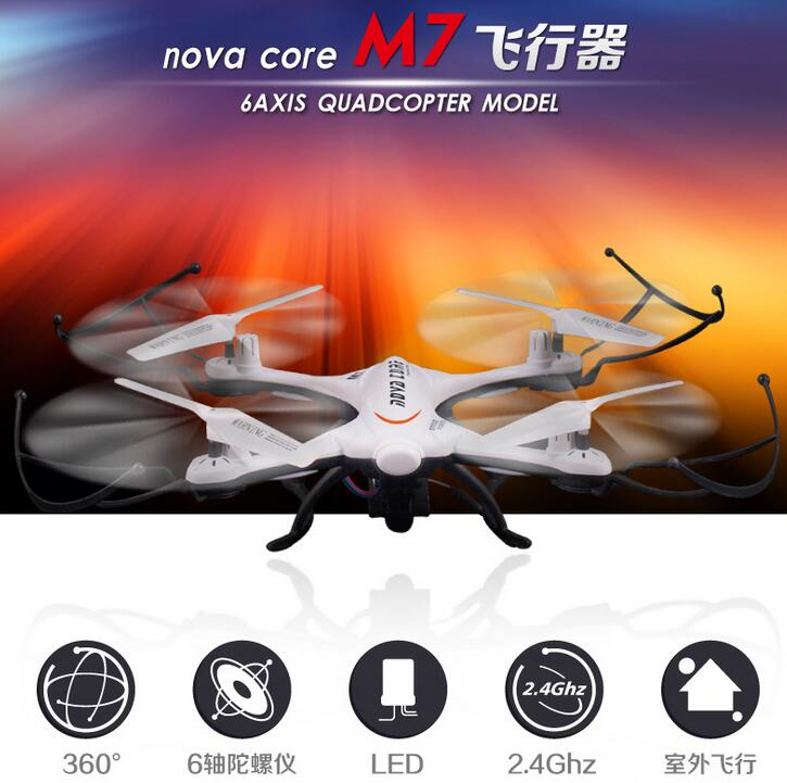 Wifi fpv rc drone M7 2.4G 4CH 6-Axis with camera rc Quadcopter Headless Mode One Key Return remote control helicopter best gift