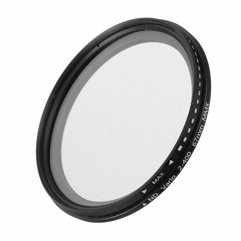 Camera ND Filter Fader Neutral Density Adjustable ND2 to ND400 Variable Filter 52mm 55mm 58mm 62mm 67mm 77mm for Canon for Nikon neutral density nd2 nd400 fader nd filter 58mm