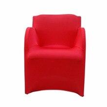 Растягивающаяся накидка на стул из спандекса покрывало на кресло стула для свадебной вечеринки Чехлы для кресел Housse De Chaise Mariage