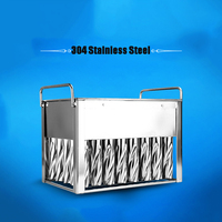 40pcs Stainless Steel Ice Cream Sticks Popsicle Mold Summer Holder Molds Home DIY Ice Lolly Mould Ice Mould Easy to clean