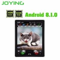 Радуясь 9,7 вертикальный экран 4 + 64 г Встроенная память Android 8,1 Универсальный стерео дисплей Bluetooth Мультимедиа 2 Дин радио головное устройство