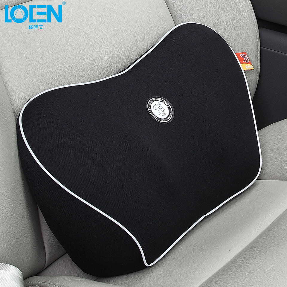 hot 1pcs high quality car back cushion breathable car lumbar cushion back support space memory. Black Bedroom Furniture Sets. Home Design Ideas
