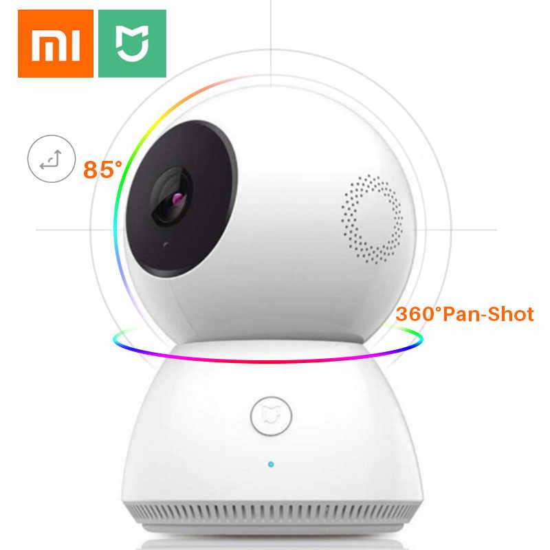 2020 gran oferta 1080P xiaomi WiFi inteligente IP Cámara Webcam visión nocturna panorámica inclinación 360 ángulo Video cámara ver Monitor de bebé