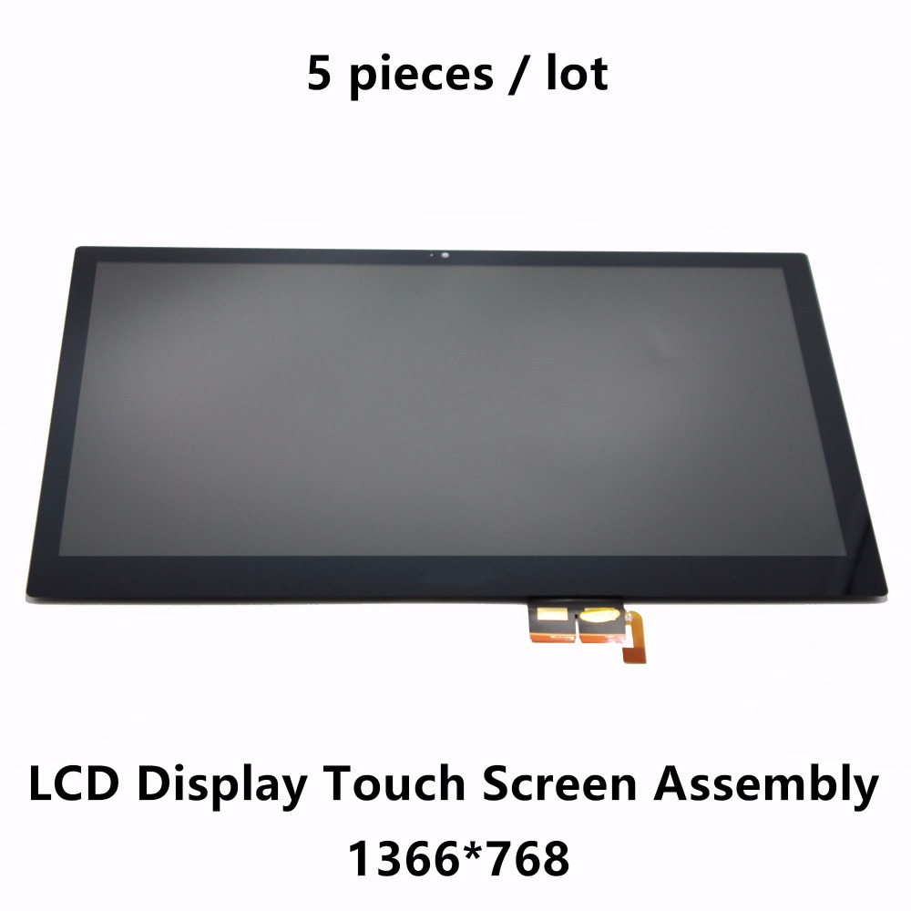 15.6'' LCD Display Touch Screen Assembly B156XTN03.1 For Acer Aspire V5-531P V5-531PG V5-571P V5-571PG V5-522P V5-522PG 5Pcs/lot new for acer aspire v5 531 v5 571 v5 571g lcd lvds cable va51 50 4vm06 002 free shipping