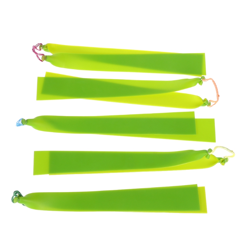 Image 5 - Rubber Band Fishing Slingshot Shooting Fish Outdoor Hunting Latex Flat Tactical-in Bow & Arrow from Sports & Entertainment