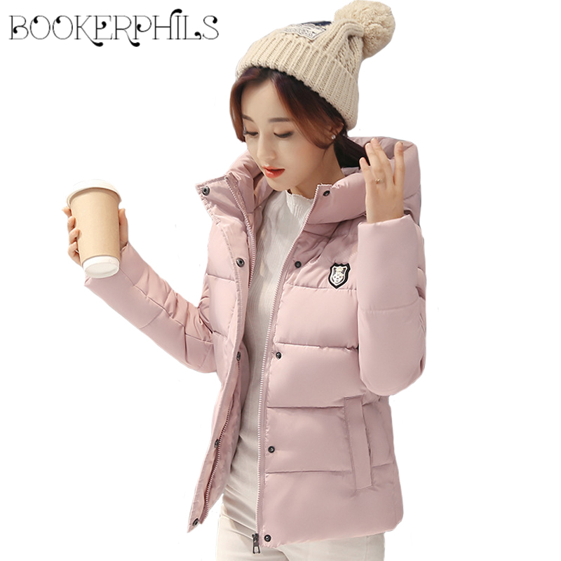 2017 Fashion Brand Cotton Padded Winter Women Jacket Warm Plus Size Thick Long Sleeve winter Coat Female Parka With Hooded M-3XL mcckle women winter coat thick warm parka with big fur collar plus size fashion hooded cotton padded long puffer coat outerwear
