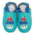 Sapatos Mocassins De Couro Meninas Do Bebê dos desenhos animados Bebê Recém-nascido Menino Chinelo Infantil Sapatos Macios Sapatos de Bebê Crianças Sapatos Primeira Walker Calçado