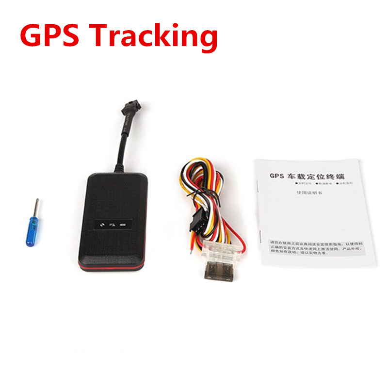Car Tracker Locator Vehicle Motorcycle GPS GPRS Anti-theft SMS Dial Tracking Alarm GSM Network Remote Real-Time Monitoring