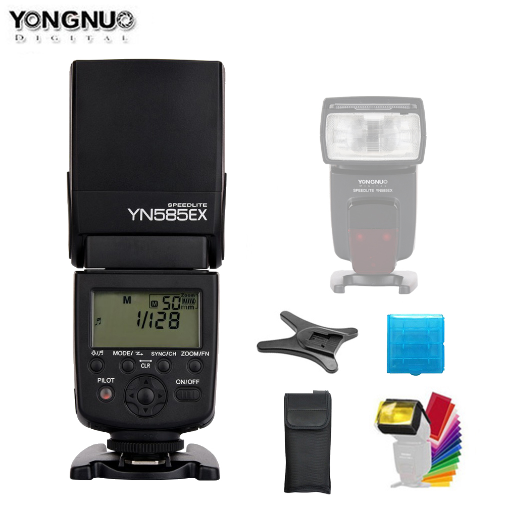 New Yongnuo Flash YN585EX P-TTL Wireless Flash Speedlite for Pentax K-70 K-50 K-1 K-S1 K-S2 K3II K5 K50 KS2 K100 CameraNew Yongnuo Flash YN585EX P-TTL Wireless Flash Speedlite for Pentax K-70 K-50 K-1 K-S1 K-S2 K3II K5 K50 KS2 K100 Camera