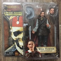 NECA Pirates Of The Caribbean 1 Black Pearl Curse