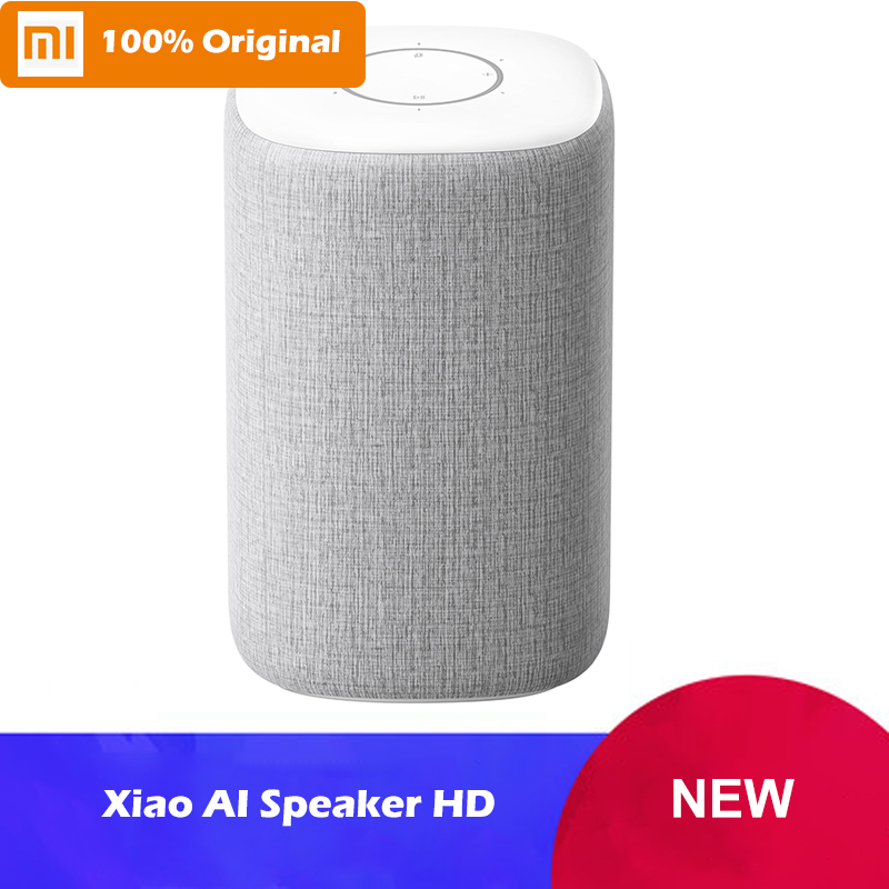 New Original Xiaomi Ai Bluetooth Speaker HD Smart Voice Control Mijia Mi Ai Speaker Smart Home Bluetooth 4.1 for iPad TV Phone
