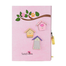 Love Heart Girls Notebook with Lock Sweet Home Girl Locked Diary for Daily Memo with Colorful Inner Page футболка sweet years page 2 href page 11