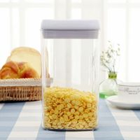 Household Food Vacuum Preservation Tank Plastic Box 2.3L Vacuum Machine Automatic Vacuum Manual Vacuum
