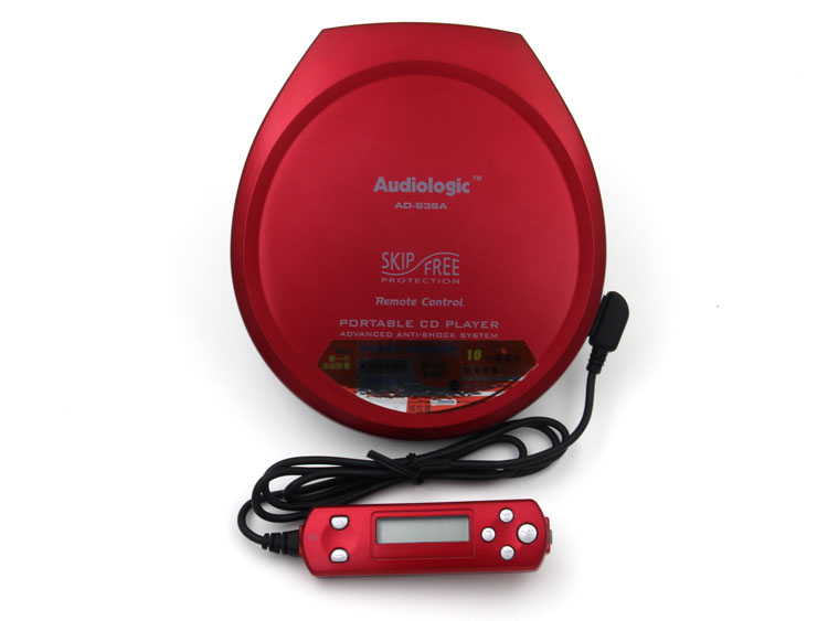 Portable CD Walkman CD Player With Remote Control And Advanced Anti-shock SystemPortable CD Walkman CD Player With Remote Control And Advanced Anti-shock System