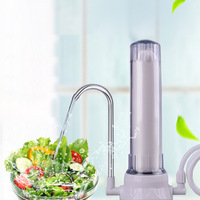 Portable Premium Countertop Water Filtration System Easy To Use Faucet Mounted Filter Transforms Tap Water Into Drinking Wat