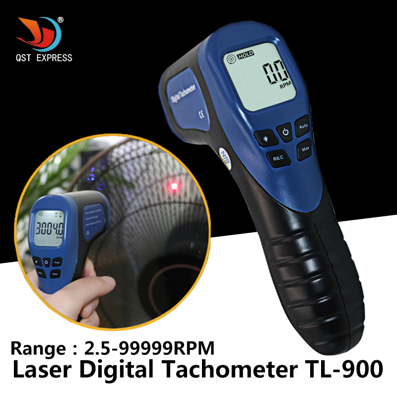 2.5-99999 Laser Digital Tachometer For Motorcycle TL-900 2 Stroke Engine Tachometer For Electric Motors Hand Tools