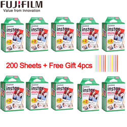 10/20/40/50/60/80/100/200 sheets Fuji Fujifilm instax mini 9 8 white Edge films for instax Instant Camera mini 8 9 7s paper