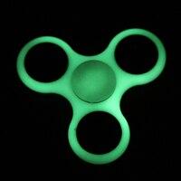 Tri Spinner Fidget Toy Luminous Fidget Spinner EDC Hand Spinner Anxiety Stress Relief Fingertip Gyroscope Gift