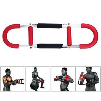 Siły ramienia maszyna do piersi Expander siły ramienia Bar dla mężczyzn mięśni klatki piersiowej Fitness ramię sprzęt treningowy ramię Exerciser wielu tanie i dobre opinie 60 kg Ramiona
