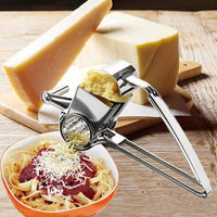 Stainless Steel Cheese Cut Wire Machine Hand Shake Pressing Garlic Device Squeezed Ginger Juice Creative Utility