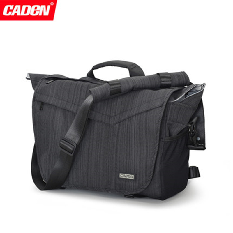 Caden Digital Camera Bag DSLR Professional Single Shouder Waterproof Backpack Photo Messenger Bags men women Camera Accessories 2018 waterproof men messenger camera bag brand camera video bags photo bag men digital dslr camera laptop shoulder bags li 1394