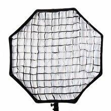 Купить с кэшбэком Godox 80cm Octagon Honeycomb Grid Carbon Fiber Bracket for Godox Photo Studio Soft Box Photograpy