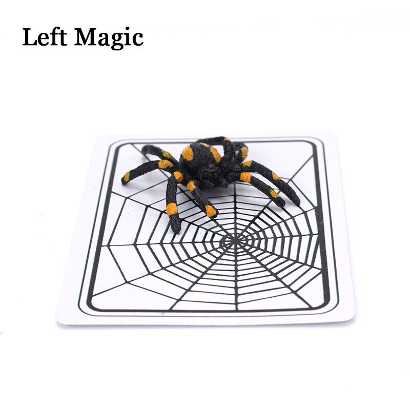 Truque de Mágica A Web de aranha E Net Cartões Truque Brinquedos Truque Mágico Ilusão Fechado-Up Magic Adereços Brinquedo