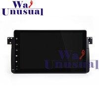 WANUSUAL 9 дюймов полный сенсорный Панель Android 7,1 gps навигации радио плеер для BMW 3 серии E46 с 4 ядра 16G 2G Оперативная память BT WI FI