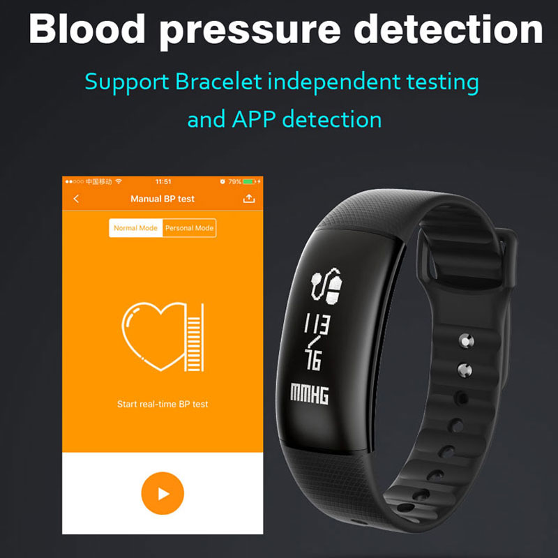 Fitness Bracelet Watch Men Heart Rate Blood Pressure Monitor Band Sport Smart Tracker A69 Wristwatch Women Clock for Android iOS