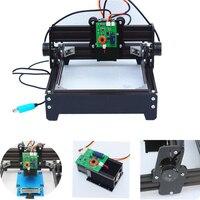 Assembled laser diy laser engraving machine 14*20cm metal engraver marking machine metal carving cnc router machine