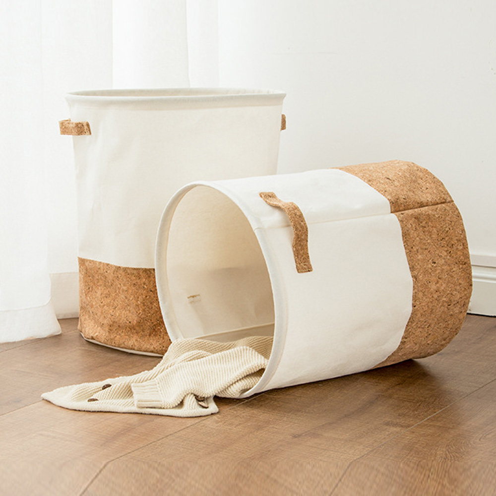 30x35 35x40cm Waterproof Laundry Basket Kids Toy Clothes Organizer Storage Basket Linen Clothes Basket Home Sundries Storage