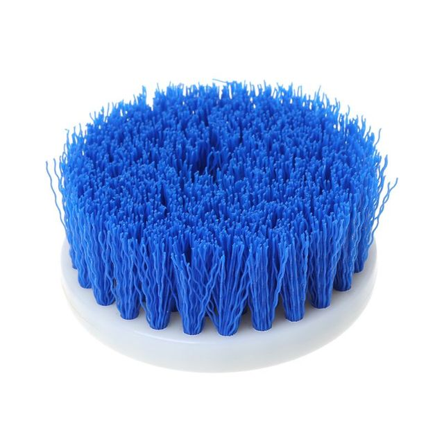 60mm Drill Powered Scrub Drill Brush Head For Cleaning Ceramic Shower Tub Carpet F5H6 4
