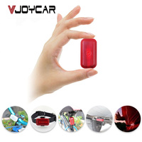 VJOYCAR Waterproof Mini GPS Tracker For Car Motorcycle Pet Children Bike Dog Cat Vehicle Kids Elderly Locator FREE Software APP