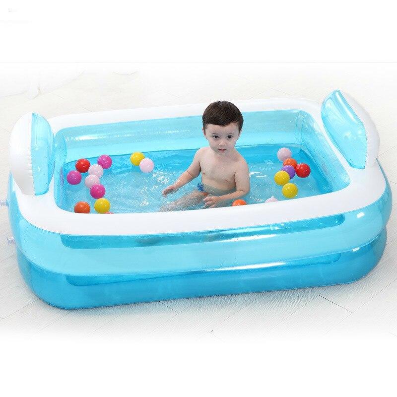 С электрическим насосом надувная Ванна складной утолщение взрослых ванна ребенок ванны бассейна родитель-ребенок интерактивные бассейн ...
