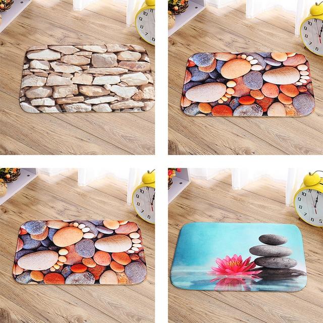 Digital Printing! Indoor Porch Stone Door Mat Non Slip Doormats ...